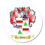 Onley Round Car Magnet