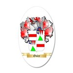Onley 20x12 Oval Wall Decal