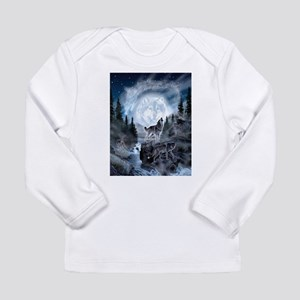 spirt of the wolf Long Sleeve T-Shirt