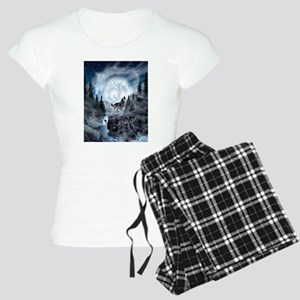 ba4cd9059c4b spirt of the wolf Women s Light Pajamas