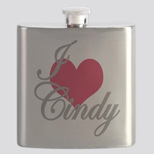 I love (heart) Cindy Flask
