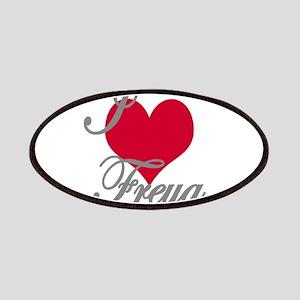 I love (heart) Freya Patch