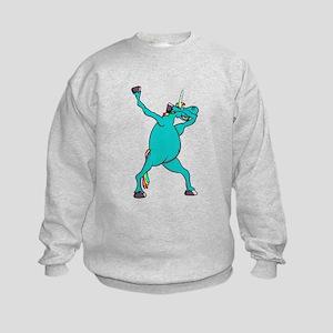 Dabbing Unicorn Sweatshirt
