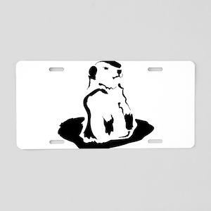 groundhog Aluminum License Plate
