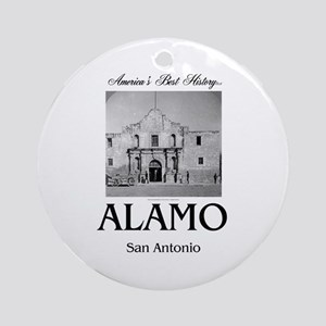 ABH Alamo Round Ornament