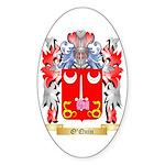 O'Quin Sticker (Oval 10 pk)