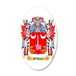 O'Quin 35x21 Oval Wall Decal