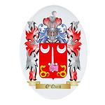 O'Quin Oval Ornament