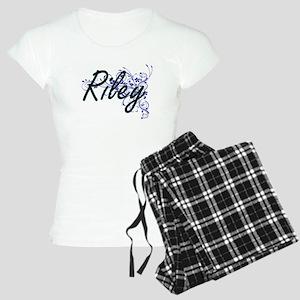 Riley Artistic Name Design Women's Light Pajamas