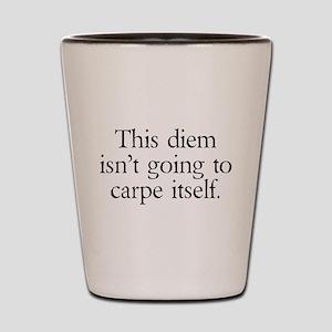 Carpe Diem Shot Glass