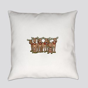 Rudolph the red nosed reindeer Everyday Pillow