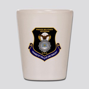 USAF Security Forces Shot Glass