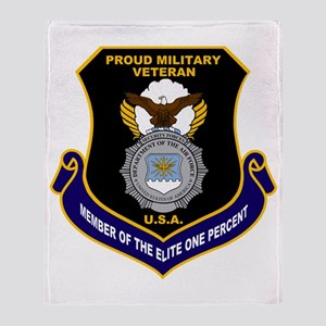 USAF Security Forces Throw Blanket