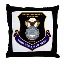 USAF Security Forces Throw Pillow