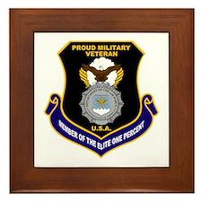USAF Security Forces Framed Tile