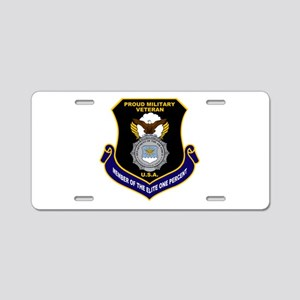 USAF Security Forces Aluminum License Plate