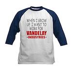 Vandelay Industries Kids' Baseball Jersey