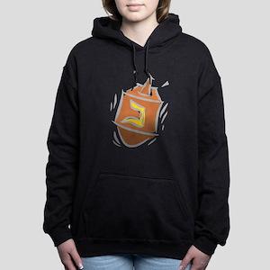 100%jewcy pink copy Women's Hooded Sweatshirt