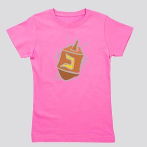 100%jewcy pink copy Girl's Tee