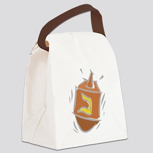 100%jewcy pink copy Canvas Lunch Bag