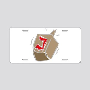 100%jewcy pink copy Aluminum License Plate