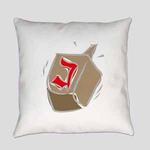 100%jewcy pink copy Everyday Pillow