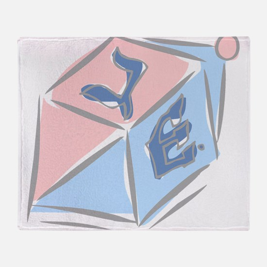 100%jewcy pink copy.png Throw Blanket