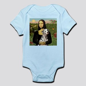 Mona Lisa (new) & Dalmatian Infant Creeper