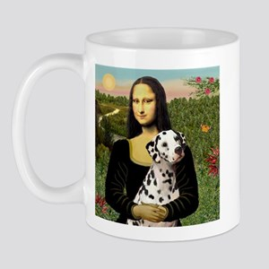 Mona Lisa (new) & Dalmatian Mug