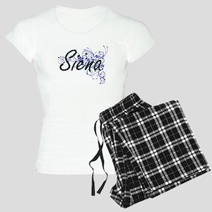 Siena Artistic Name Design Women's Light Pajamas