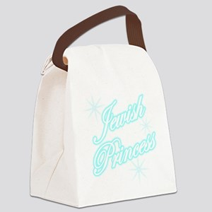 jewishprincessbrightblue Canvas Lunch Bag