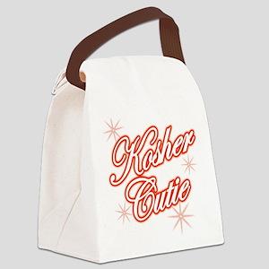 koshercutiered Canvas Lunch Bag