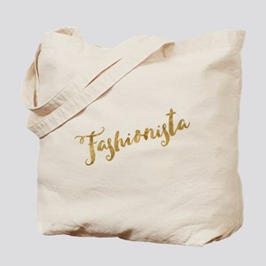 Golden Look Fashionista Tote Bag