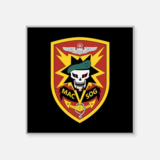 "MAC V SOG Square Sticker 3"" x 3"""
