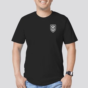 MAC V SOG (BW) Men's Fitted T-Shirt (dark)