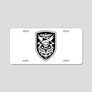 MAC V SOG (BW) Aluminum License Plate