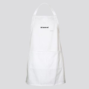 Just one more cast BBQ Apron