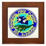 USS Eldorado (AGC 11) Framed Tile