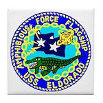 USS Eldorado (AGC 11) Tile Coaster
