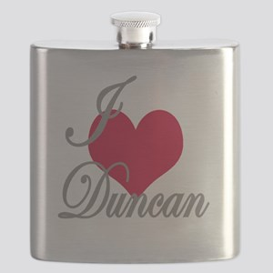 I love (heart) Duncan Flask