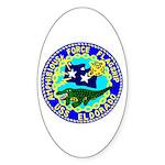 USS Eldorado (AGC 11) Oval Sticker