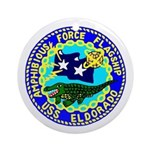 USS Eldorado (AGC 11) Ornament (Round)
