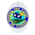 USS Eldorado (AGC 11) Oval Ornament