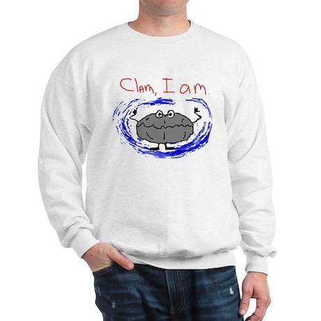 Clam, I am Sweatshirt