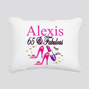 65 YEARS OLD Rectangular Canvas Pillow