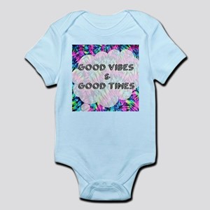 Good Vibes & Good Times Body Suit
