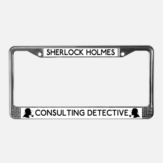 Sherlock Holmes Detective License Plate Frame
