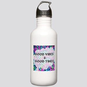 Good Vibes & Good Time Stainless Water Bottle 1.0L