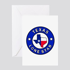 Texas Lone Star Greeting Cards