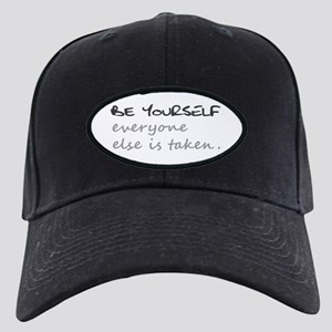 BE YOURSELF Black Cap